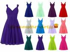 New Stock Short Formal Prom Dresses Party Ball Wedding Gowns Bridesmaid Cocktail