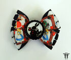 Alice Wonderland Royal White Rabbit Card Suits Hair Bow