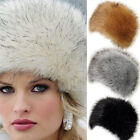 New Womens Winter Warm Faux Fox Fur Russian Mongolia Warm Ski Hat Cap Earflap