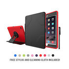 Apple iPad Air 2 Case Cover Shockproof Defender Heavy Duty Rubber Hard Stand