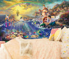 3D Mermaid And Prince 72 Wallpaper Decal Dercor Home Kids Nursery Mural  Home
