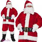 Regal Plush Professional 8 Piece Santa Outfit Adult Father Christmas Costume