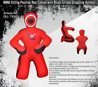 best for submission red and black canvas made dummies