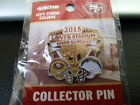 49ERS GAME DAY PIN 09 03 2015 GAMEDAY LEVI SAN DIEGO CHARGERS BLACK FRIDAY SALE $18.49 USD