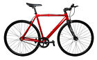 LoCal Bike Single Speed Fixed Track Fixie Complete Bicycle Red Black SM MD LG
