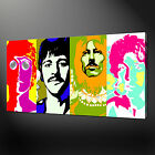 THE BEATLES CANVAS WALL ART PICTURE PRINT VARIETY OF SIZES FREE UK P&P