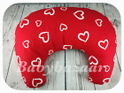 NEW BREAST FEEDING  SUPPORT NURSING  BABY PILLOW MATERNITY WITH COTTON COVER