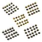 50 Sets Double Sided Rivets Fasteners Studs Button Sewing Leather craft Jeans