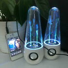 LED Dancing Water Show Music Fountain Light Speakers for Phones Computer USA UB