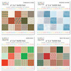 "Simply Creative scrapbooking paper 6""x6"" full pack or single sheets"