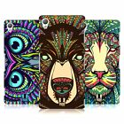 HEAD CASE DESIGNS AZTEC ANIMAL FACES HARD BACK CASE FOR SONY XPERIA Z3