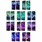 HEAD CASE DESIGNS NORTHERN LIGHTS LEATHER BOOK WALLET CASE FOR SAMSUNG GALAXY J7