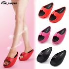 Slim Sole Massage Shoes Weight Loss Slimming Diet Legs Slipper Toning Shoe 1Pair