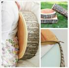 Tree Wood Log Home Sofa Car Seat Table Chair Throw Plush Cushion Pillow Gifts LJ