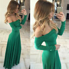Women Long Formal Prom Dress Cocktail Party Balls Gown Evening Bridesmaid Dress