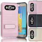 Shockproof Hybrid Case Cover Armor + Screen Protector For Samsung Galaxy J7 2015