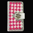 Bling Glitter PU Leather Flip Case Wallet Cover For Various wiko Phones