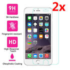 2Pcs 9H+ Premium Tempered Glass Screen Protector For Apple iPhone 6 6S 7 Plus 5s