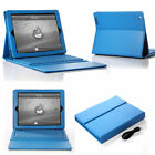 Bluetooth Wireless Keyboard With Stand Leather Case Cover for iPad Mini 3/4 Air