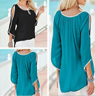 Top Short Women Tops Blouse Summer Ladies Sleeve New Casual T-Shirt Loose