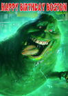 GHOSTBUSTERS Slimer Ghost Slimed Ghost Busters Birthday Party Cake icing sheet