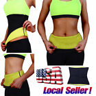 Waist Trimmer Exercise Wrap Belt Slim Burn Fat Sweat Weight Loss Body Shaper GS $4.79 USD on eBay