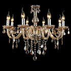 MTN Crystal Candle Pendant Lamp European Classical Bedroom Lighting Chandelier