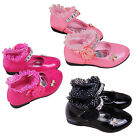 Brand New Cute Children Girl's Ballroom Danceing Shoes Lace princess shoes
