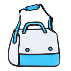 3d Jump Style 2d Drawing From Cartoon Paper Shoulder Bag Comic Backpack Totes
