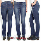 """Lucky Brand,Women's Jeans,BROOKE STRAIGHT,""""MID-RISE"""",Slim Fit."""