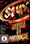 USE DVD // STYX - RETURN TO PARADISE - LIVE - Dennis DeYoung, Tommy Shaw, James