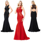 2017 New Elegsant Backless Women's Long Evening Party Prom Gown Formal Dress Hot
