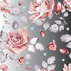 3d Flowers And Drops 531 Wallpaper Decal Decor Home Kids Nursery Mural  Home