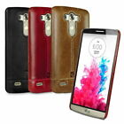 Pierre Cardin Genuine Leather Cover Hard Back Case Skin For LG G4 G5 V10 V20
