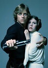 CARRIE FISHER 22 WITH MARK HAMILL (PRINCESS LEILA STAR WARS) CAST PHOTO PRINT