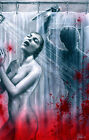 PSYCHO MOVIE SHOWER NORMAN BATES MOTEL - ART POSTER PRINT - ALFRED HITCHCOCK