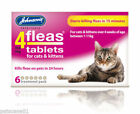 Best Dog Fleas - JOHNSONS 4 FLEAS TABLETS CAT DOG 3 Review