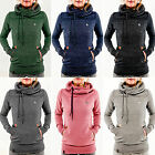 NEW WOMEN MEN Hoodie Sweatshirt Jumper Sweater Pullover Tops Coat Winter HOODED