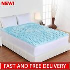 Mattress Topper Cooling Foam Pad Bed Cushion King Size Or...