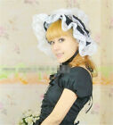 Lolita Lace Kawaii Princess Hat Lady's Black and White Hair Accessory Cosplay