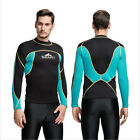 Mens 2mm Wetsuit Top Long Sleeve Wetsuit Jacket Surf