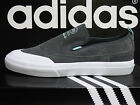 NEW AUTHENTIC ADIDAS Matchcourt ADV Men's Slip-on Shoes - Grey/Mint;  B27337