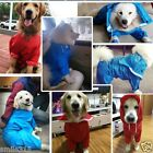 Waterproof Pet Dog Coat Jacket Hoodie Vest Reflective Raincoat Clothes S-XXXXL