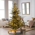 Green Alberta Spruce Pre-Lighted Artificial Christmas Tree Home Living Holidays
