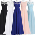 New Chiffon Dress Long Evening Party Prom Ball Gown Bridesmaid Pageant PLUS SIZE
