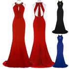 New Women Formal Dress Lady Long Bridesmaid Party Evening Celebrity Gown Carpet