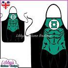 Green Lantern DC Comics Superhero Novelty Funny Apron Adult Cooking BBQ Chef