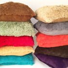 "20"" x 20"" Shaggy Faux Fur Long Pile Square Cushion Covers"