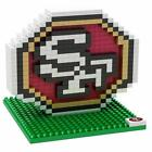 NFL Football 3D BRXLZ Team Logo Puzzle Construction Block Set - Pick Team!