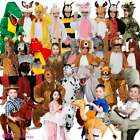 KIDS ANIMAL ZOO BOOK WEEK NATIVITY ONESIE GIRLS BOYS FANCY DRESS COSTUMES OUTFIT